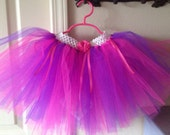 Hot Pink and Purple Itty Bitty Tutu