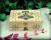 Asatru Dedication Keepsake Box