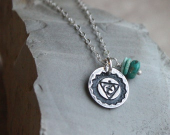 5th Chakra Necklace- Throat Chakra Necklace