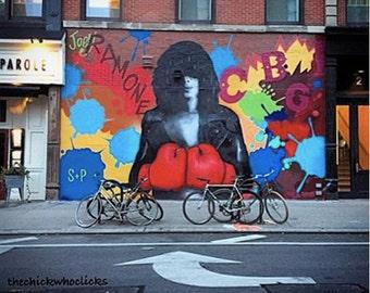 Joey Ramone / CBGB  Street Art Photography