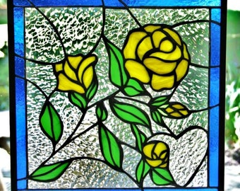Custom Designed Stained Glass Window Art