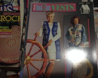Quick and Easy Vests Crochet  Annie's Attic Inc.