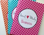 Polka Dots Folder . Personalized Folder . Small Business Folder . Custom Folder . Office Folder . School Folder . Teacher Folder