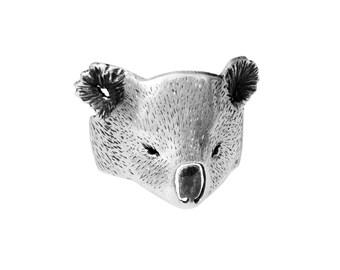 Koala ring / Sterling silver