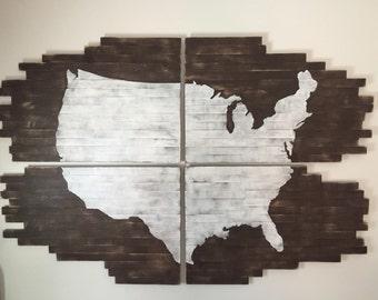 Wood Plank Wall Art wood plank art | etsy