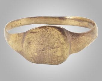 Ancient Roman Womans Ring C.100-300A.D.  Size 8 3/4   (18.6mm) (brr126)