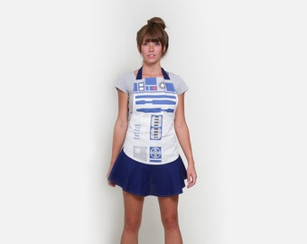 R2D2 Women's Hostess Apron