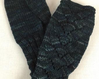 100% Merino Wool Fingerless Gloves, 112