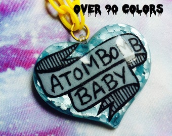 Atom Bomb Baby, Fallout Resin Necklace, New Vegas, Fallout 4