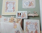 Cross Stitch Baby Keepsakes Dimensions 210 Pattern Leaflet