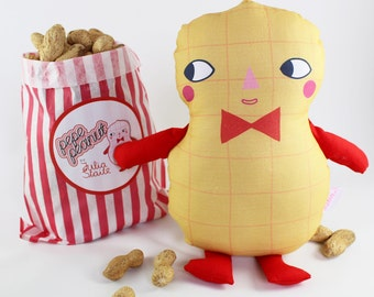 Pepe Peanut Soft Toy Plush Doll
