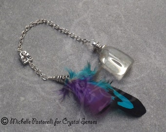 Ancient Wisdom Obsidian Dowsing Pendulum (DP0313)
