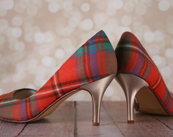CUSTOM CONSULTATION:  Design Your Own Wedding Shoes, Tartan Wedding Shoes, Custom Wedding Shoes, Scottish Wedding Shoe, Scottish Bride