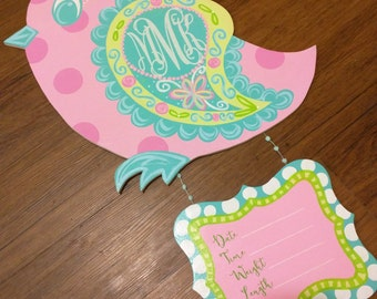 Baby Bird Hospital Door Hanger