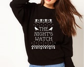 The Night's Watch Game of Thrones Ugly Holiday Sweater
