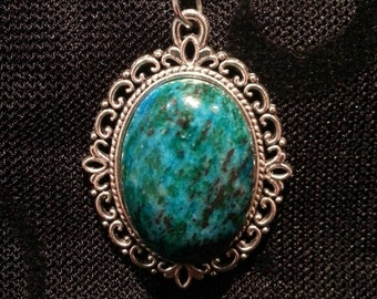 Blue/Turquoise Gemstone Necklace