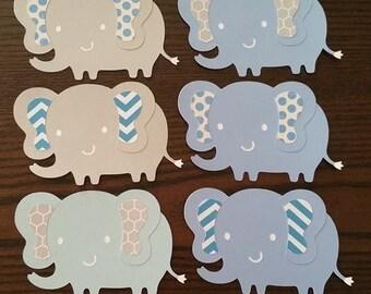 Elephant Die Cuts - Set of 10