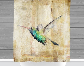 Shower Curtain And More   Hummingbird Watercolor Nature Inspired Home | See  Dropdown For Pricing And