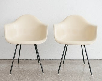 Pair of Mid Century Zenith Eames Shell Chairs