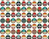 Nutcracker Dots on Cream from Riley Blake's Nutcracker Christmas Collection - Choose Your Cut
