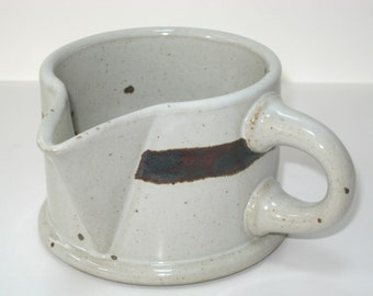Dansk BLT Sandstone Creamer Cream Pitcher Niels Refsgaard - Mid Century Danish Modern Stoneware