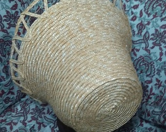 Fancy Straw Plait Bonnet - Civil War Era -  by Anna Worden Bauersmith