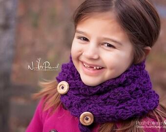 Crochet PATTERN - Scarf Crochet Pattern - Cowl Crochet Pattern - Crochet Patterns - Scarf Pattern - Toddler Child Adult Sizes - PDF 267