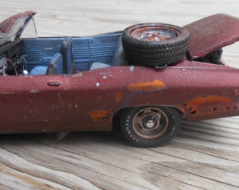 Scale Model Car,Christmas Gift,Classicwrecks,Chevrolet Chevelle,Rat Rod