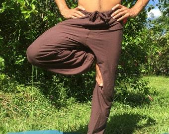 Mens organic yoga dance pants hemp cotton choices. Super comfy
