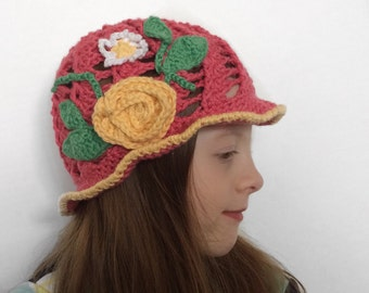 Coral Spring Hat
