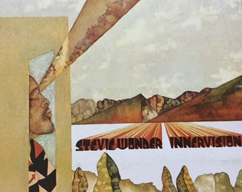 Stevie Wonder Innervisions on Tamla Records 1973 very good copy