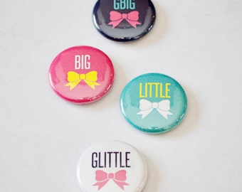 """Sorority Family 1"""" Buttons"""