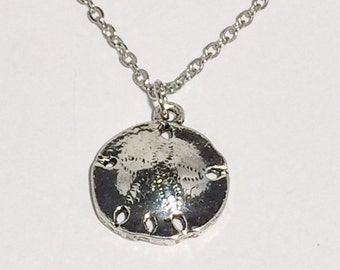 Sand Dollar Necklace Friendship Gift Beach Jewelry