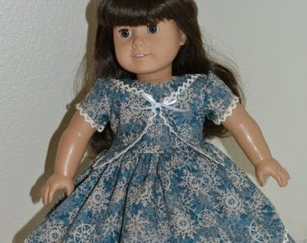 Christmas or Winter dress for 18 inch doll