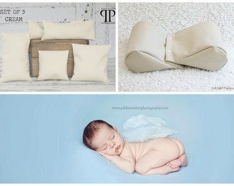 Starter Set #4 ~ Squishy poser & Set of 5 Posey positioners. Newborn photo props by Posey Pillow