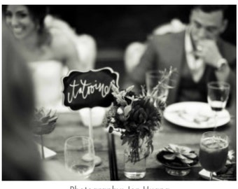 Chalkboard sign table numbers, Romantic Small Chalkboard Signs for Weddings, Small Chalkboard Sign Table Numbers, Chalkboard Wedding Signs