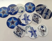 "Printed Precut Cowboys inspired 1"" images for bottlecaps, crafts, scrapbooking etc.."