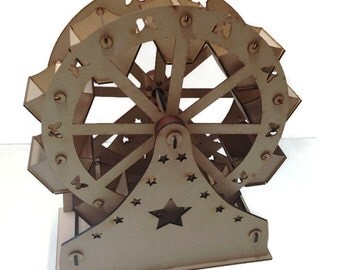 Sweet Ferris Wheel Wooden 10 Buckets Weddings Birthdays 500mm