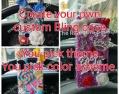 Create Your Own Bling Custom phone case