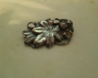 Jo Michels Sterling Brooch
