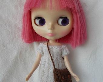 Handmade bag avalaible for any kind of dolls (pure neemo, momoko, barbie, fashion royalty, pullip, blythe, bjd...)