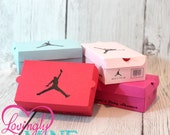 Mini Shoe Box Favors - 10 Per Set - Assembly Required