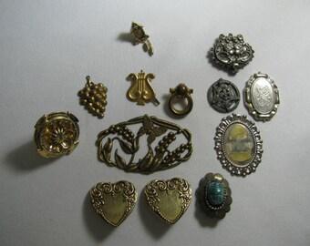 Vinge jewelry destash findings