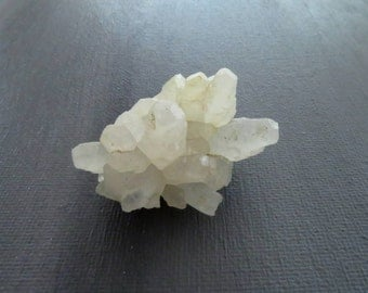 Calcite Crystal Specimen Raw Mineral Specimen 42mm x 25mm x 23mm Natural Rough Stone (Lot 9847) Spiky Crystal Point Cluster