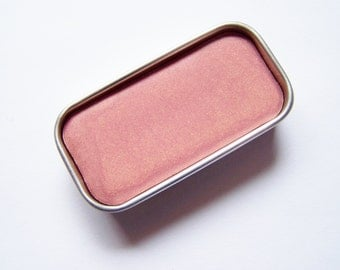 Naked Pink Mineral Lip Color - Zero Waste Vegan Lipstick - Lipstick In A Tin - Vegan Mineral Makeup -  Cruelty Free Cosmetics