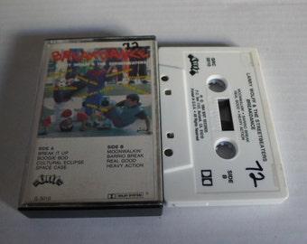 BREAKDANCE cassette 1984 larry wolff