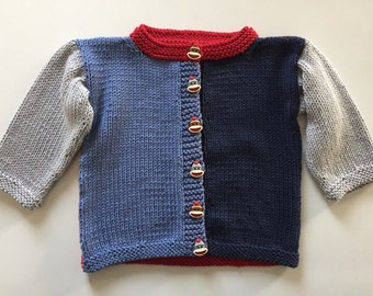 Knitted Scrappy Sweater