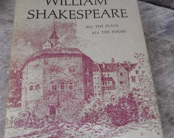 Vintage Book - The Complete Works of William Shakespeare Volume 1