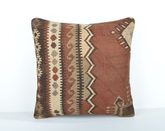 Kilim pillow cover, kp1741, Kilim Pillow, Turkish Pillow, Kilim Cushions, Kilim, Moroccan Pillow, Bohemian Pillow, Turkish Kilim