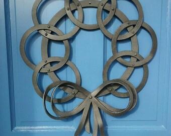 Steel wreath